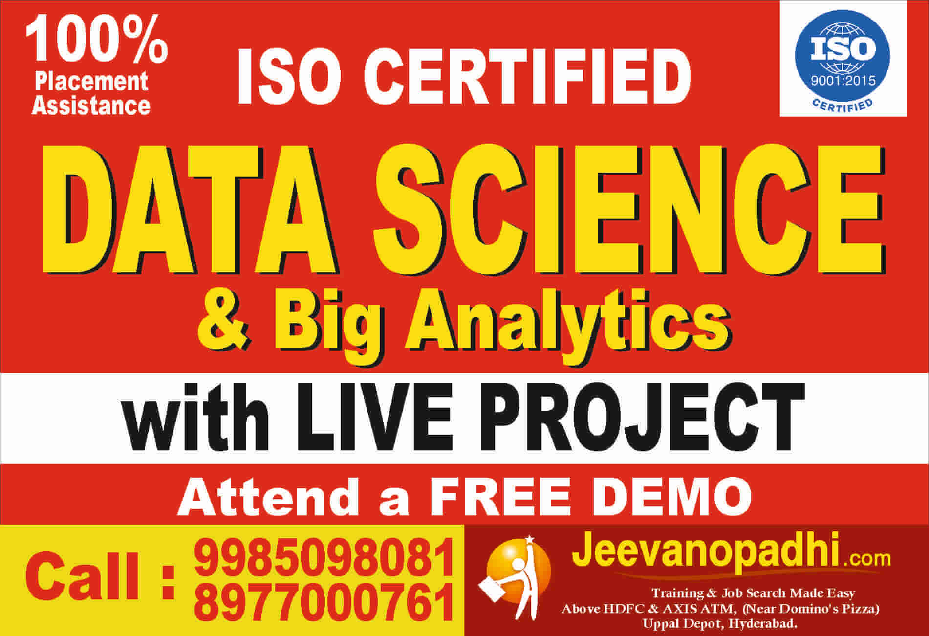 Hadoop And Big Data Training In Hyderabad Uppal Depot Jeevanopadhi