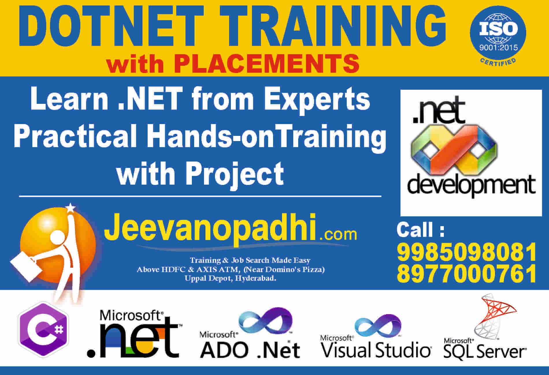 Best dotnet training in uppal hyderabad with placements we give training for 1betcityfo Gallery