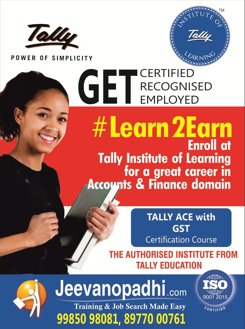 tally training with gst