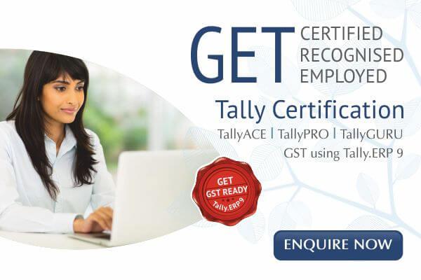 tally training in uppal